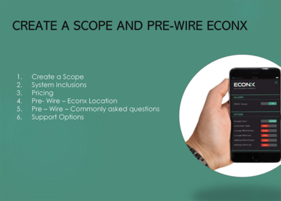 Create Scope – Pre Wire